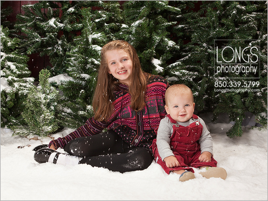 Tallahassee first christmas pictures